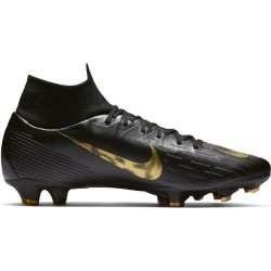 CHAUSSURES BASSES Football adulte NIKE SUPERFLY 6 PRO FG, NOIR