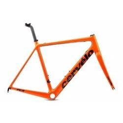 Kit Cadre/Fourche Route Cervélo R3 Rim 2019 Orange / Bleu