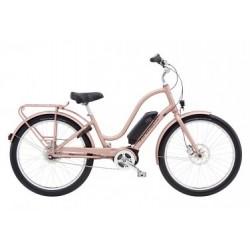Vélo de Ville Électrique Electra Townie Go! 8i Shimano Nexus 8V Rose / Or 2019