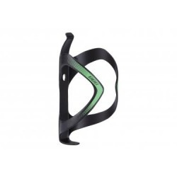 Porte-Bidon BBB FiberCage Carbone UD Noir Mat Vert