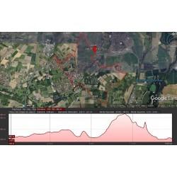 Parcours Trail des Pierres du Camp de César + Marmant