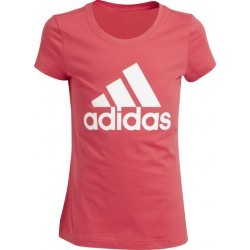 1085N-TEXT MS TSHIRT MC FI  fille ADIDAS YG LOGO TEE