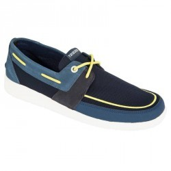 Chaussures bateau homme SAILING 100 bleu/jaune