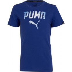 1145N-TEXT MS TSHIRT MC G   PUMA BOY PUMA REBEL TEE BLEU