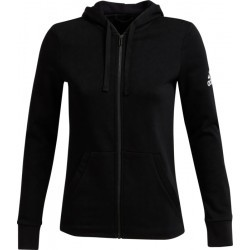 HOODED TRACK TOP  femme ADIDAS ESS SOLID FZ HD