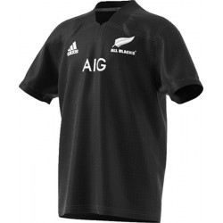 MAILLOT RUGBY   ADIDAS ALL BLACKS JR HOME 17