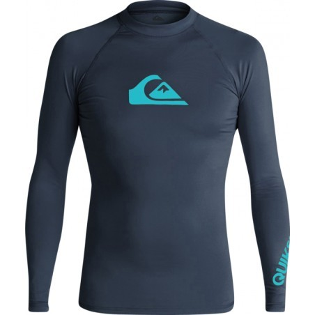LYCRA  homme QUIKSILVER ALL TIME LS MARINE