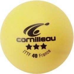 BALLES ITTF  ORANGES 3 ETOILES X3   CORNILLEAU BALLES ITTF  ORANGES 3 ETOILES X3