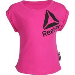 1085N-TEXT MS TSHIRT MC FI  fille REEBOK G ES TEE PLUS