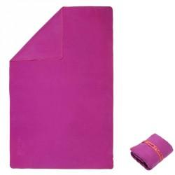 Serviette microfibre violet ultra compacte taille M 65 x 90cm
