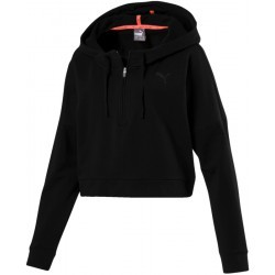 PUMA W  TRANSITION COVER UP.BLK