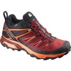 CHAUSSURES  homme SALOMON X ULTRA 3 LOW GTX ROUGE/ORANGE