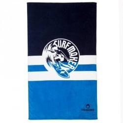SERVIETTE L print Maker Bleu 145x85 cm