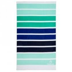 SERVIETTE L print Malibu Bleu 145x85 cm