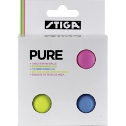 BALLE DE TENNIS DE TABLE   STIGA PURE BALLS