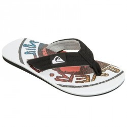 Tongs Quiksilver Layback white