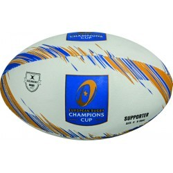 BALLON RUGBY   GILBERT CHAMPION S CUP SUPPORT BALL 16