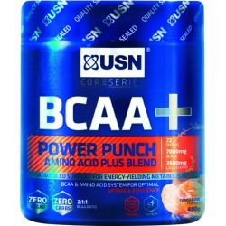 DEVELOPPEMENT MUSCULAIRE   USN NUTRITION BCAA POWER PUNCH TANGERINE