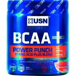 DEVELOPPEMENT MUSCULAIRE   USN NUTRITION BCAA POWER PUNCH PASTEQUE