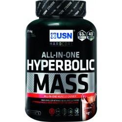 PRISE DE MASSE   USN NUTRITION HYPERBOLIC MASS CHOCOLAT 2 KG