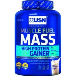 PRISE DE MASSE   USN NUTRITION MUSCLE FUEL MASS VANILLE 2 KG