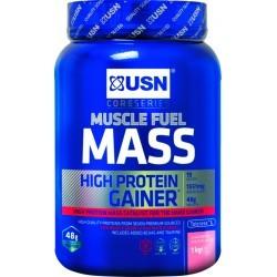 PRISE DE MASSE   USN NUTRITION MUSCLE FUEL MASS STRAW 1 KG