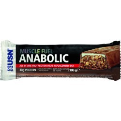 PRISE DE MASSE   USN NUTRITION MUSCLE FUEL BARRE CHOCO 100 GR