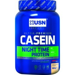 SECHAGE MUSCULAIRE   USN NUTRITION CASEIN VANILLE 1 KG