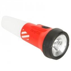 Lampe étanche lanterne bateau 2 en 1 rouge