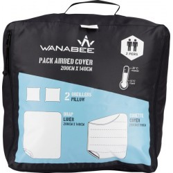 accessoire   WANABEE PACK AIRBED COVER 2P