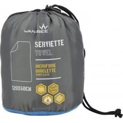 accessoire   WANABEE SERVIETTE BOUCLETTE 120X60