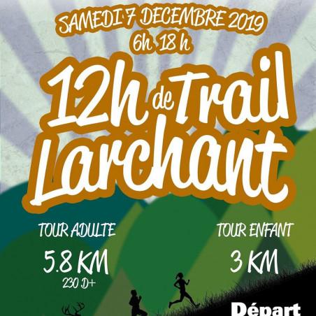 12h de Trail de Larchant - Téléthon 2019