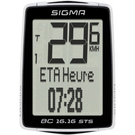 COMPTEUR   SIGMA BC 16.16 STS CAD
