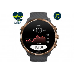 Suunto 7 Graphite Copper Cardio-Gps