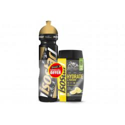 Isostar Hydrate & Perform - Citron + 1 gourde offerte Diététique Boissons