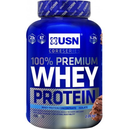 DEVELOPPEMENT MUSCULAIRE   USN NUTRITION WHEY CHOCOLAT 2,28KG