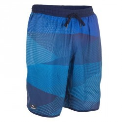 Boardshort long homme bidarte filter bleu