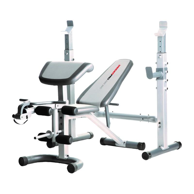 Avis test banc de musculation weider pro 290 weider prix - Banc musculation go sport ...