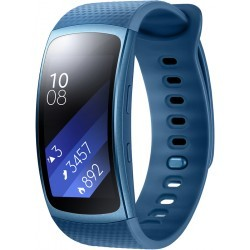 BRACELET CONNECTE   SAMSUNG GEAR FIT 2 BLANC TAILLE S