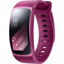 BRACELET CONNECTE   SAMSUNG GEAR FIT 2 ROSE TAILLE L
