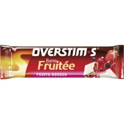 NUTRITION ENERGISANTE   OVERSTIMS BARRE FRUITEE