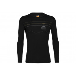 Icebreaker 200 Oasis Peak To Peak Lift M vêtement running homme