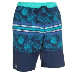 Boardshort long homme hendaia Blind bleu