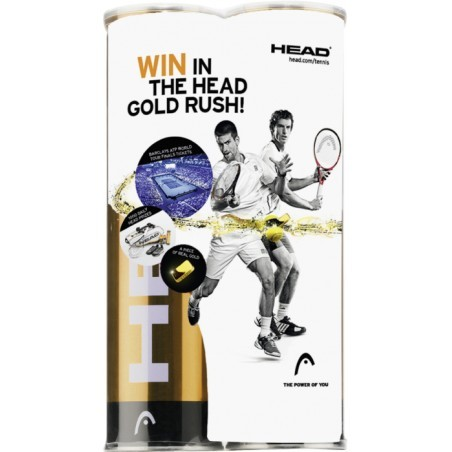 BALLE DE TENNIS   HEAD ATP BIPACK