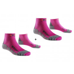 X-Socks Pack Run Discovery 2.1 Chaussettes