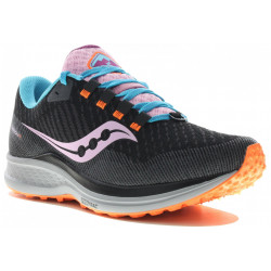 Saucony Canyon TR Bright Future Black W Chaussures running femme