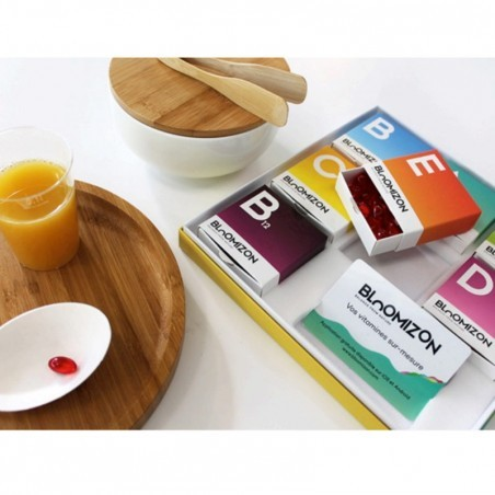 Compléments alimentaires sur-mesure vitaminés Bloomizon