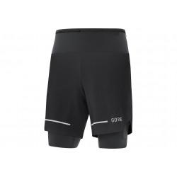 Gore Wear Ultimate 2 en 1 M vêtement running homme