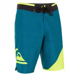 Boardshort long QUIKSILVER Wave Blue yellow