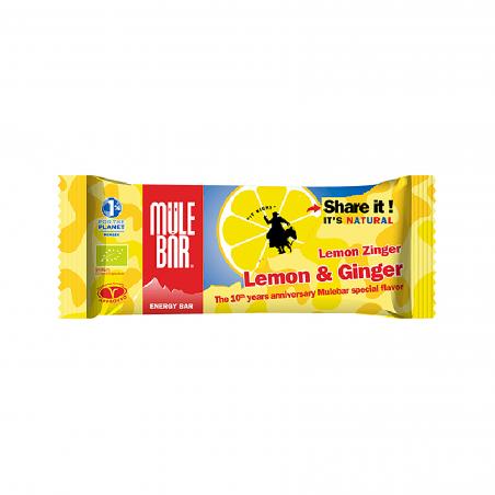 Barre énergétique Lemon Ginger 40g